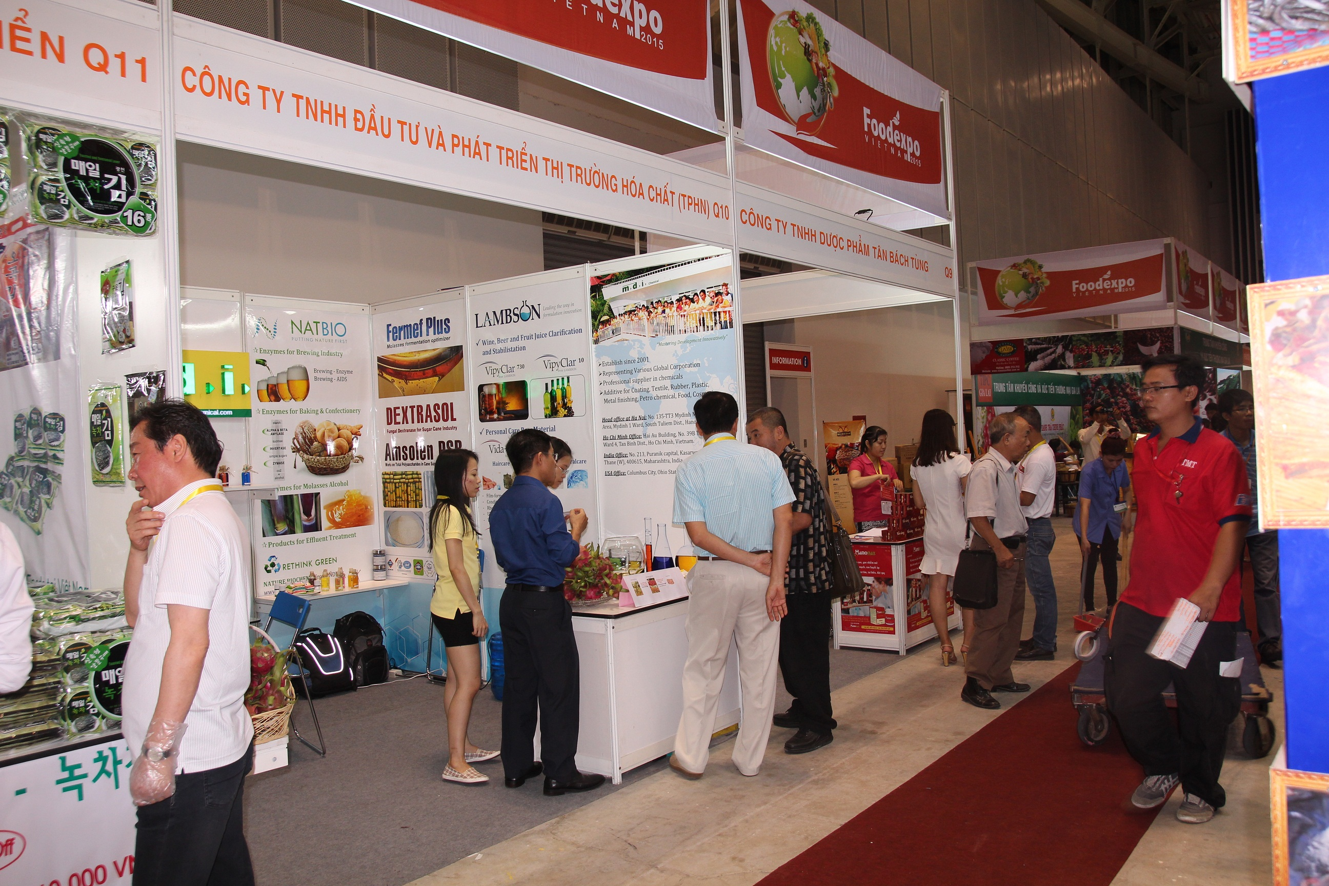 MDI joined the international food technology expo 2015