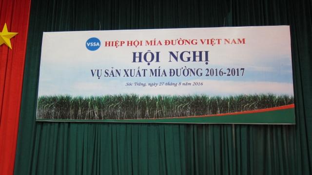 Sugarcane conference 2016